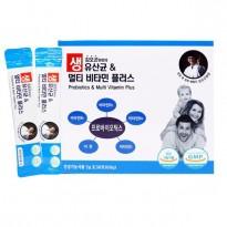 김오곤원장의 생유산균&멀티비타민플러스