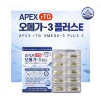 에버그린 에이펙스 알티지 오메가-3 플러스E 60캡슐
